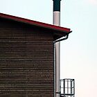 Some boring building with a chimney | architectural photography by Patrick Jobst