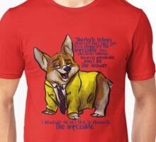 Dirk Gently's Holistic Detective Agency: Corgi Unisex T-Shirt