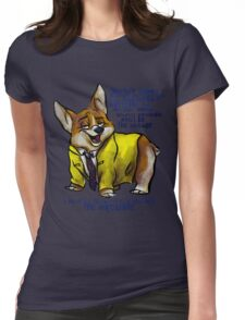 Dirk Gently's Holistic Detective Agency: Corgi Womens Fitted T-Shirt