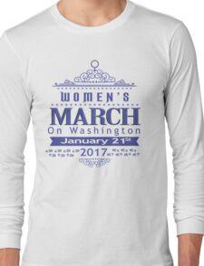 Million Women's March on Washington 2017 Long Sleeve T-Shirt