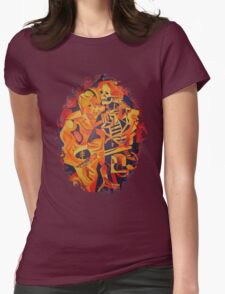 A Skeleton and A Corpse Embracing Death T-Shirt
