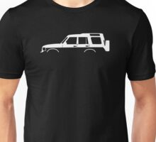 4x4 silhouette for Land Rover Discovery series 1 classic Unisex T-Shirt