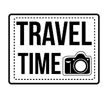 travel time Photographic Print