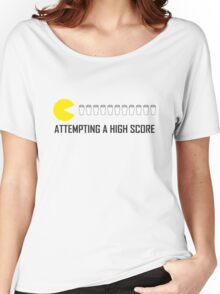 Attemping a High Score Women's Relaxed Fit T-Shirt