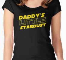 Daddy's little Stardust Women's Fitted Scoop T-Shirt