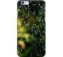 Spider Web Dew iPhone Case/Skin