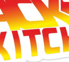 Back To The Kitchen Sticker