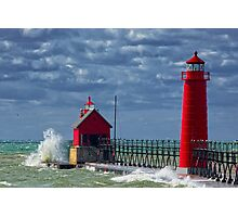 Grand Haven Fall Photographic Print
