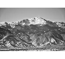 Fresh Powder in Colorado Springs #2 Photographic Print