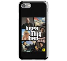 Gta Breaking bad mashup iPhone Case/Skin