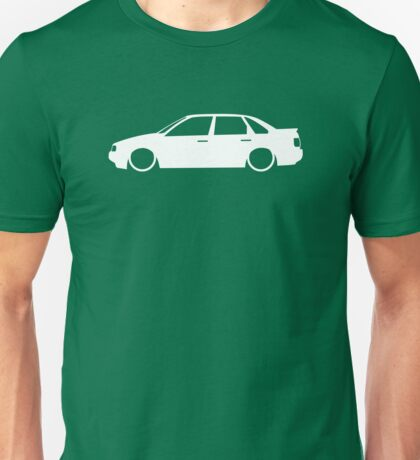 Lowered car for VW Passat B3, 35i saloon enthusiasts Unisex T-Shirt