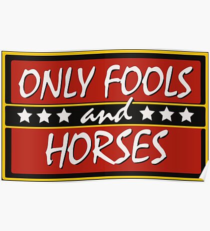 Only Fools And Horses Funny British TV Show Shirts Poster