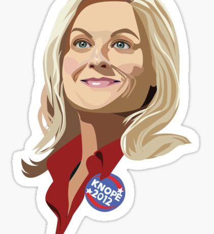 Vote Knope! Sticker