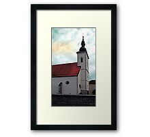 The village church of Waldburg I | architectural photography Framed Print