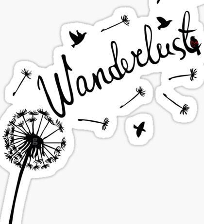 wanderlust Sticker