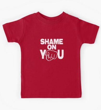 Shame On You Kids Tee
