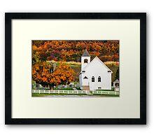 Goddard Church Framed Print
