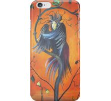 Gamaun The Prophetic Bird With Ruffled Feathers iPhone Case/Skin