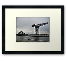 Old & New Glasgow Framed Print