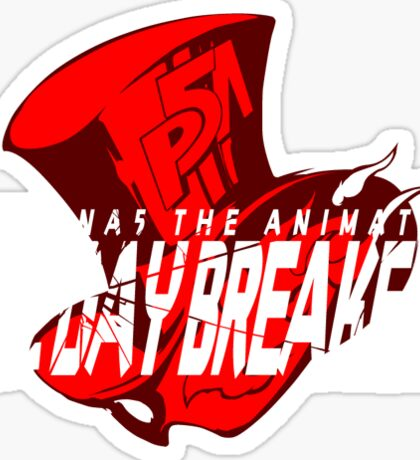 Persona 5 - The Daybreakers Sticker