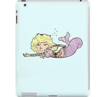 Mermaid with tattoos iPad Case/Skin
