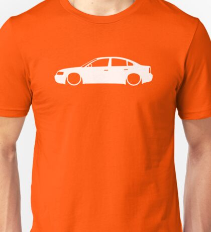 Lowered car for VW Passat B5 sedan 1997-2000 enthusiasts Unisex T-Shirt