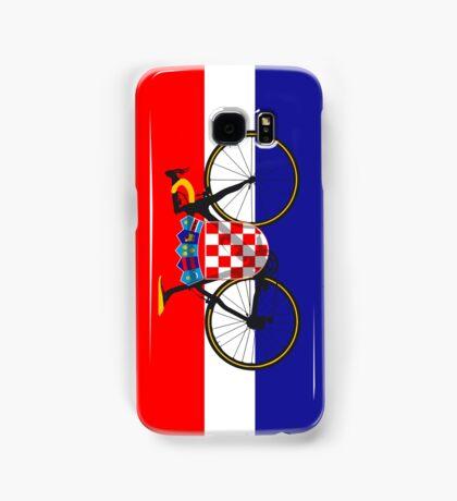 Bike Flag Croatia (Big - Highlight) Samsung Galaxy Case/Skin
