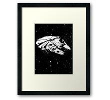 My-lennium Falcon Framed Print