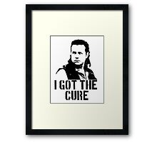 I Got The Cure Framed Print