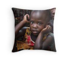 Uganda Future Probe Throw Pillow