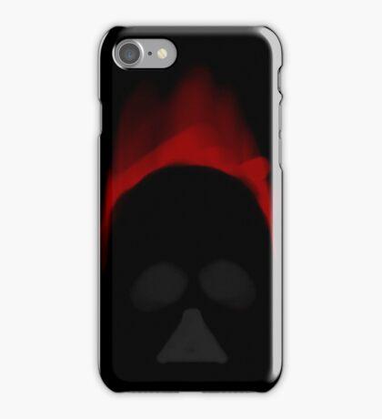Dark Red Shadows... iPhone Case/Skin