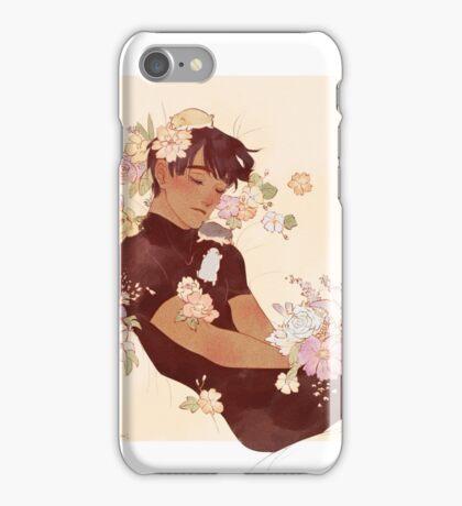 Phichit + Flowers + Hamsters iPhone Case/Skin