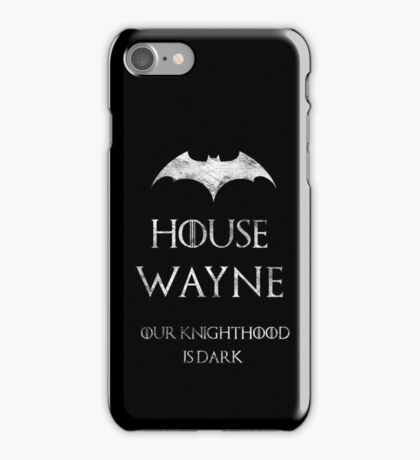 The Noble House of Waynes iPhone Case/Skin