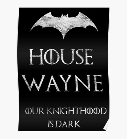 The Noble House of Waynes Poster