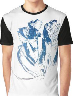 Galaxy Flower Graphic T-Shirt
