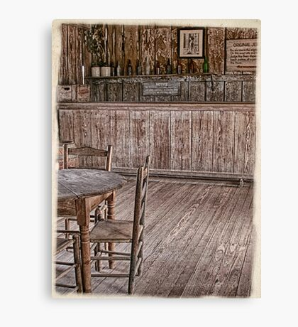 Saloon in Langtree Canvas Print