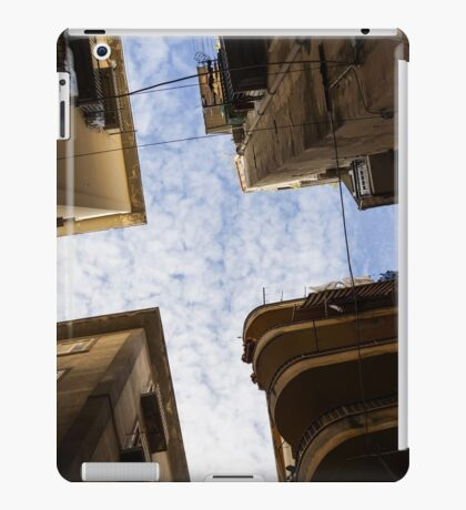 Skyward in Naples Italy - Spanish Quarters Take Two iPad Case/Skin