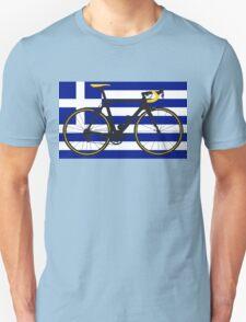 Bike Flag Greece (Big - Highlight) T-Shirt