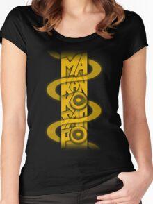 Makankosappo Women's Fitted Scoop T-Shirt