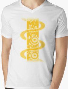 Makankosappo Mens V-Neck T-Shirt