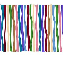 Bold Cool Color Sticks  by Patricia Lintner