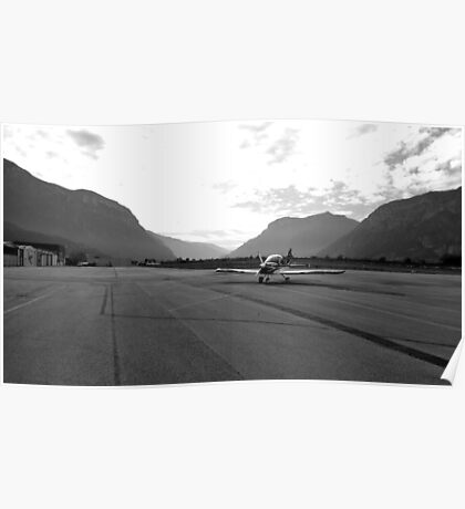 Airport Trento Poster