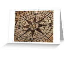 Masonry Compass Greeting Card