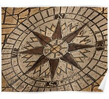 Masonry Compass Poster