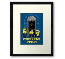Consulting Minion Framed Print