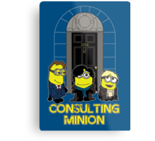 Consulting Minion Metal Print