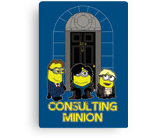 Consulting Minion Canvas Print