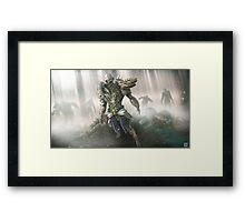Lord of Zombies Framed Print