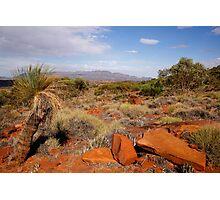 Australian Outback Desert Landscape Photographic Print
