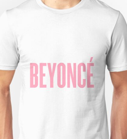 Beyonce Decal Unisex T-Shirt